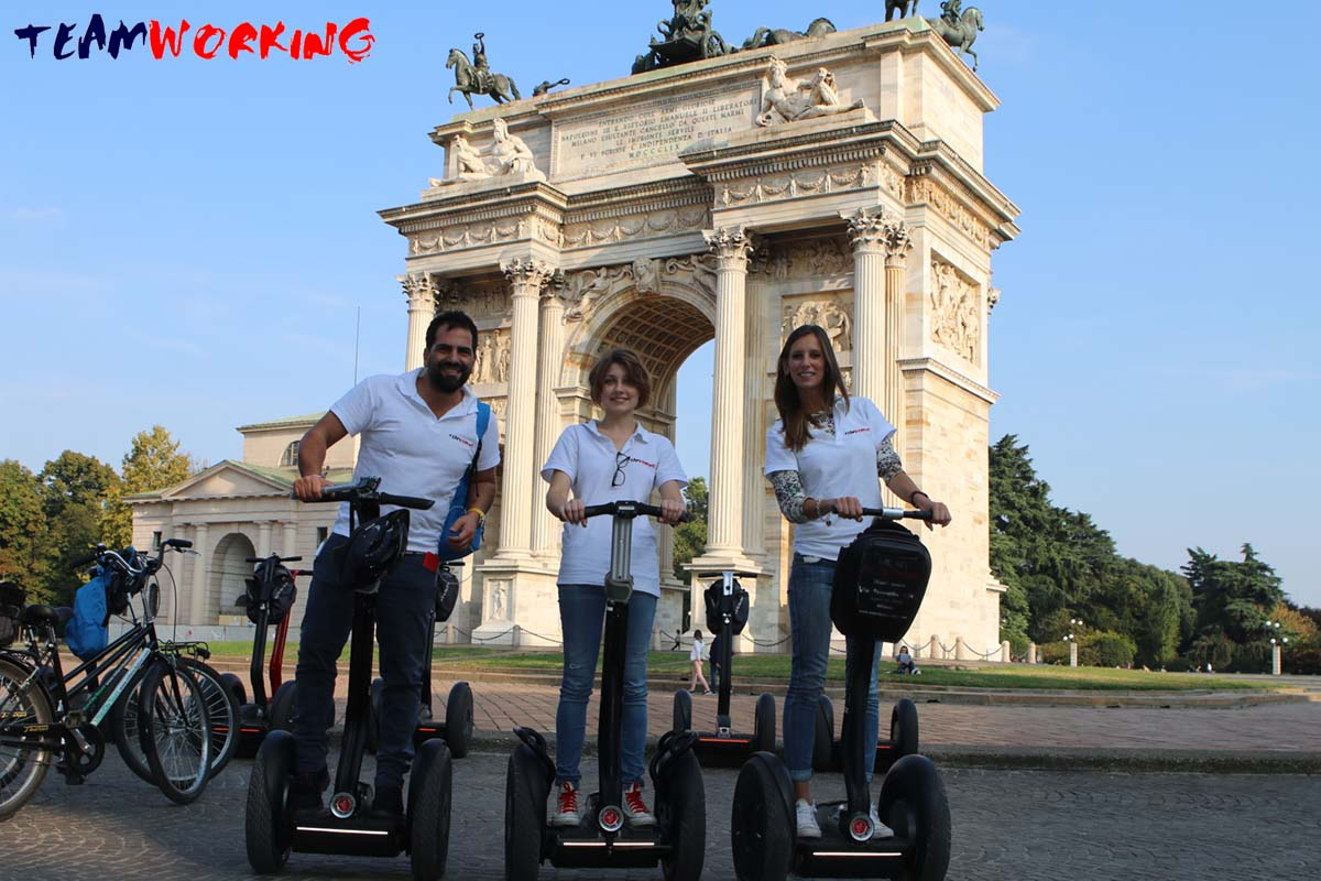 TeamWorking on Segway