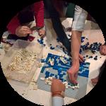 Team Building Lego Building